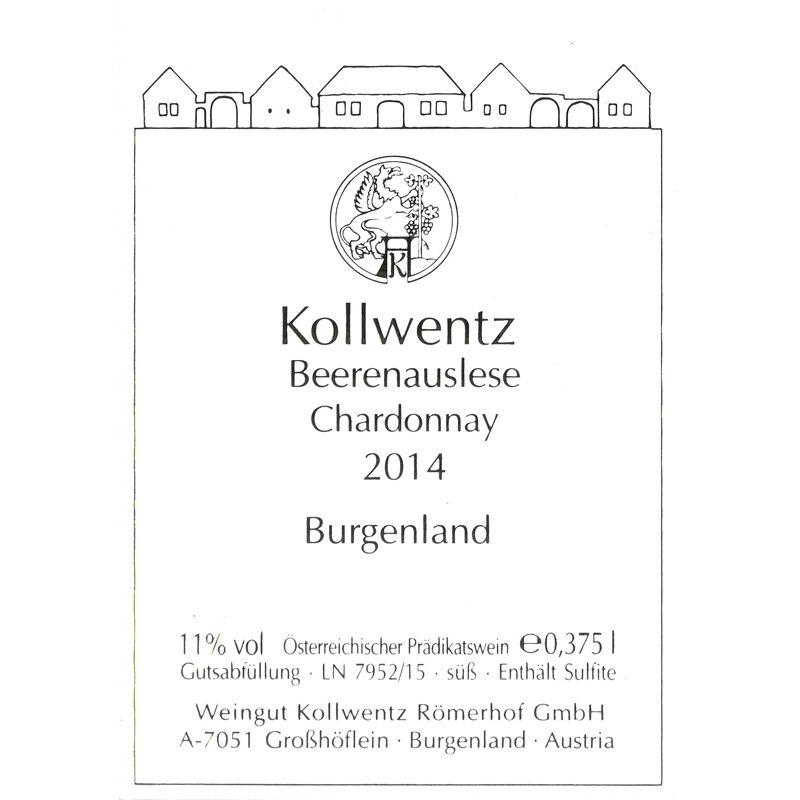 Chardonnay Beerenauslese, 0,375 l, Süßwein, Kollwentz