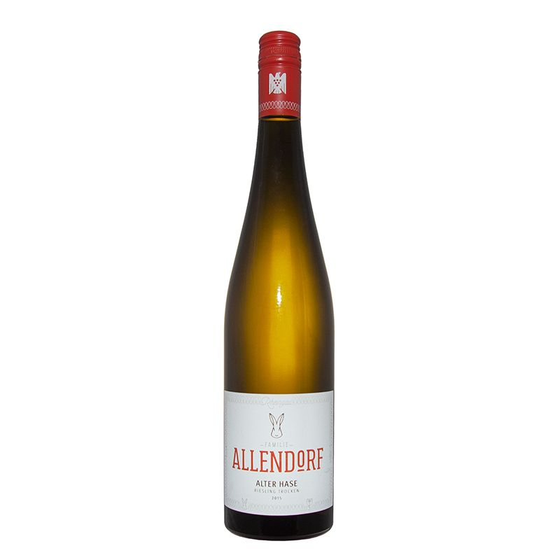 Alter Hase, Rheingau Riesling trocken, VDP.Gutswein, Allendorf