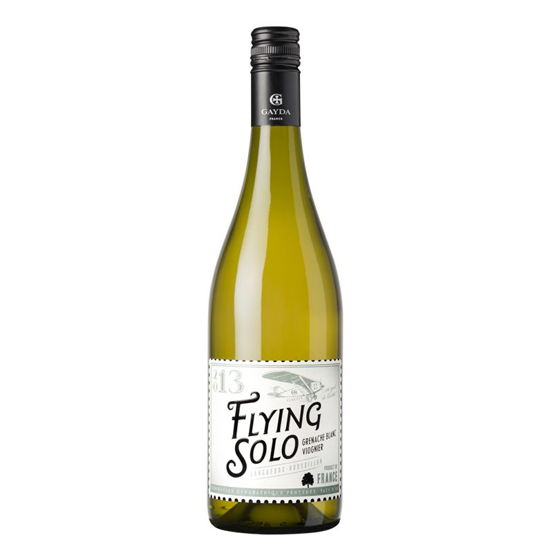 Flying Solo Grenache Blanc-Viognier, I.G.P. Pays d'Oc, Gayda