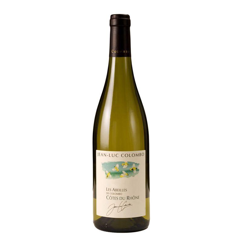 Côtes du Rhône Les Abeilles Blanc, AOC, Jean-Luc Colombo