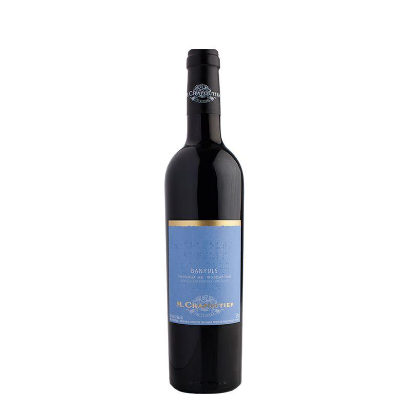 Banyuls Rouge Rimage, Vin Doux Naturel (VDN/Süßwein), AOC, 0,5 l, M. Chapoutier