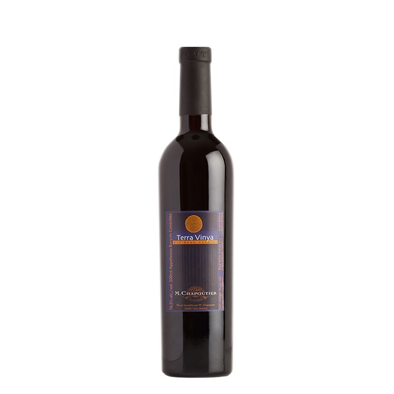 Banyuls Terra Vinya Rouge, Vin Doux Naturel (VDN/Süßwein), AOC, 0,5 l, M. Chapoutier