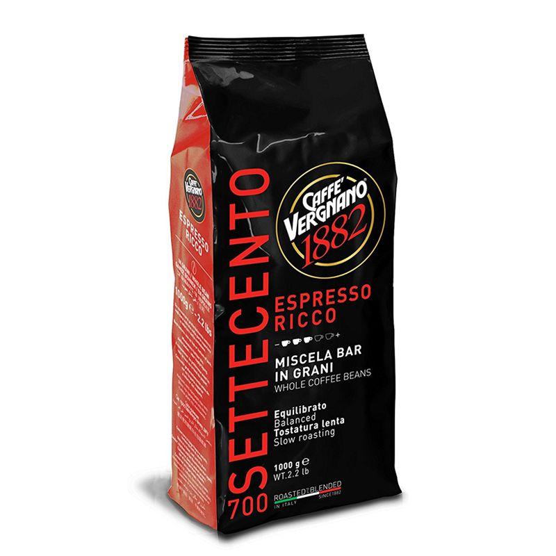 Espresso Ricco 700, Caffè Vergnano 1882 (Kaffee, ganze Bohnen)