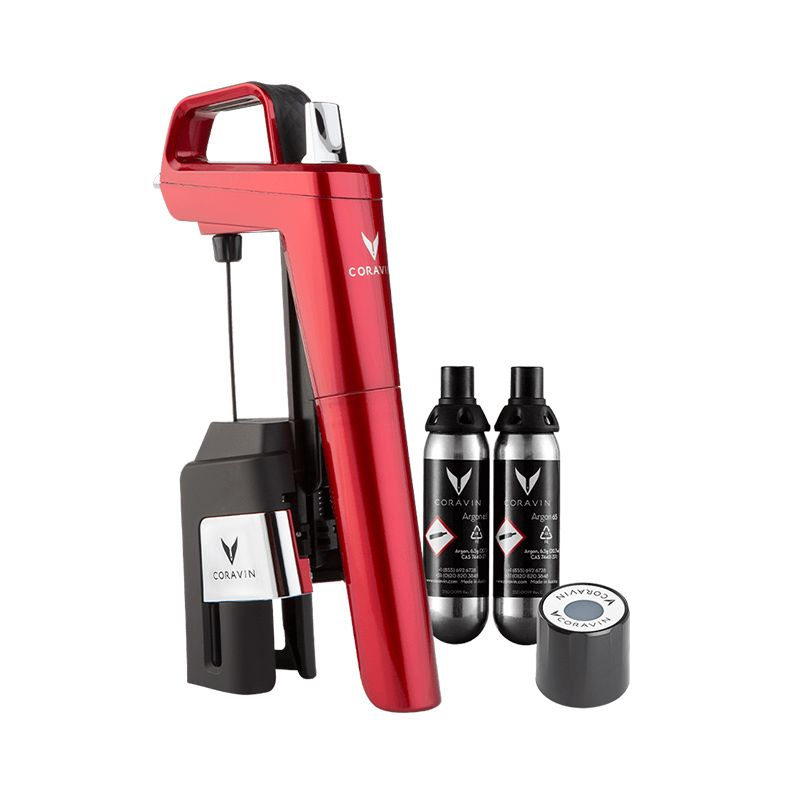 CORAVIN™ Model Six Core – Candy Apple Red