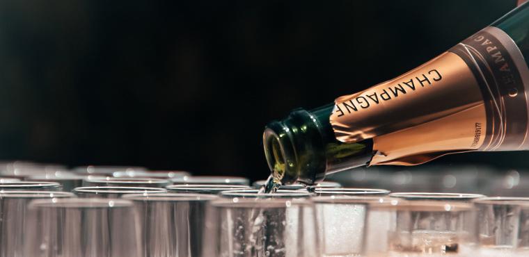 Schaumweine – Champagner & Co